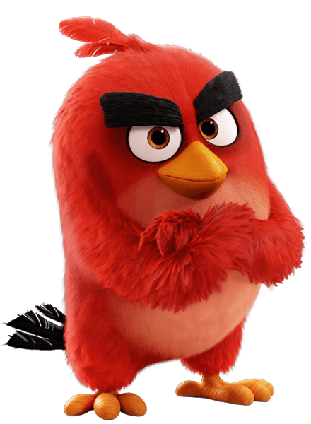Mascotte Angry Birds