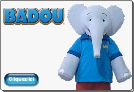 BADOU animation mascotte