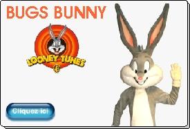 Bugs Bunny mascotte officielle warner