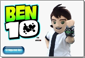 Ben Ten animation mascotte evasion communication costume