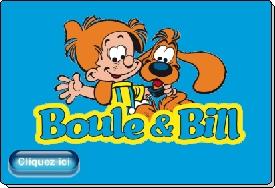 Boule et Bill mascottes personnages officiels