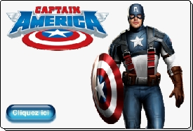 Captain America costume animation