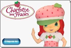 Charlotte aux Fraises mascotte officielle animation