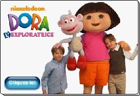 Dora l'exploratrice mascotte costume