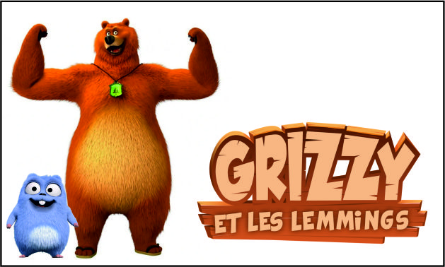 Grizzy lemmings animation mascotte event
