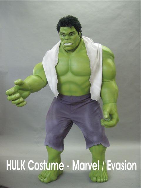 Hulk Costume officiel MARVEL pour Evasion Communication - France