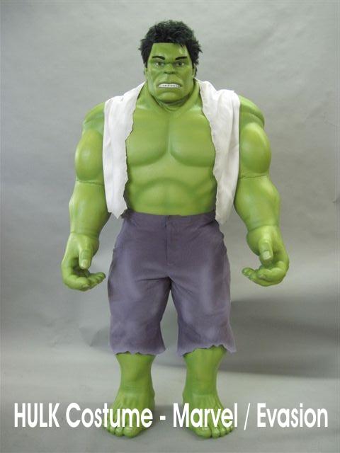Hulk Costume officiel MARVEL pour Evasion Communication - Franc