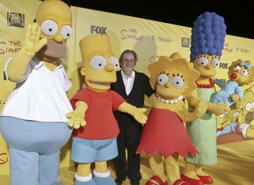 Animations Les Simpsons mascottes officielles