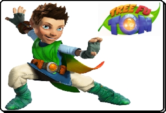 Tree Fu Tom mascotte