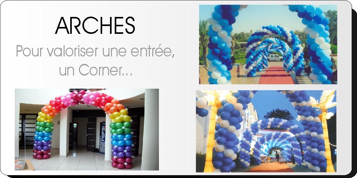 Arches de ballons - Décoration ballons