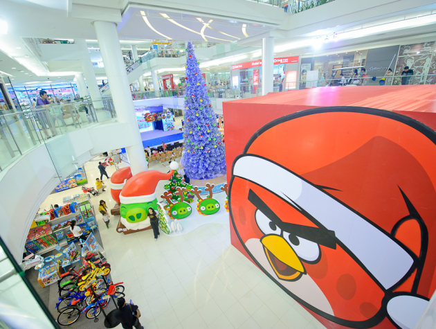 Angry Birds animation commerciale
