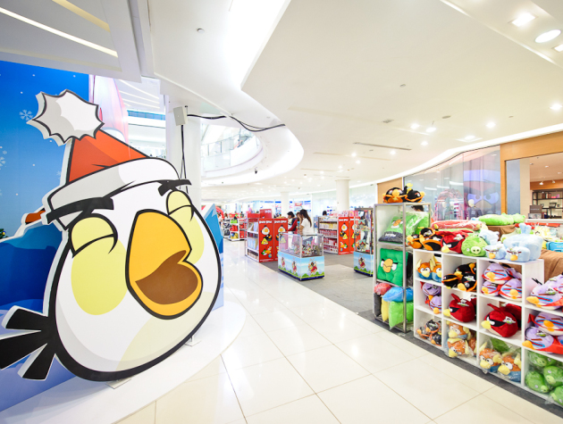 Angry birds official costumes evasion communication - Angry birds noel ...