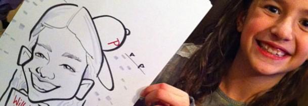Animation caricaturiste silhouetiste