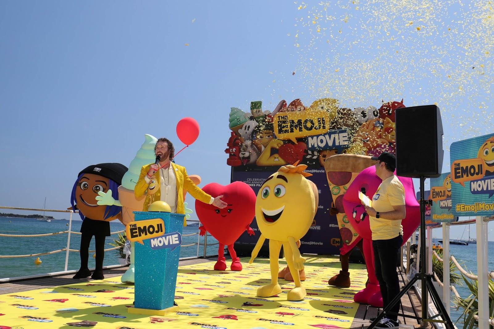 Festival de Cannes Mascottes les Emojis