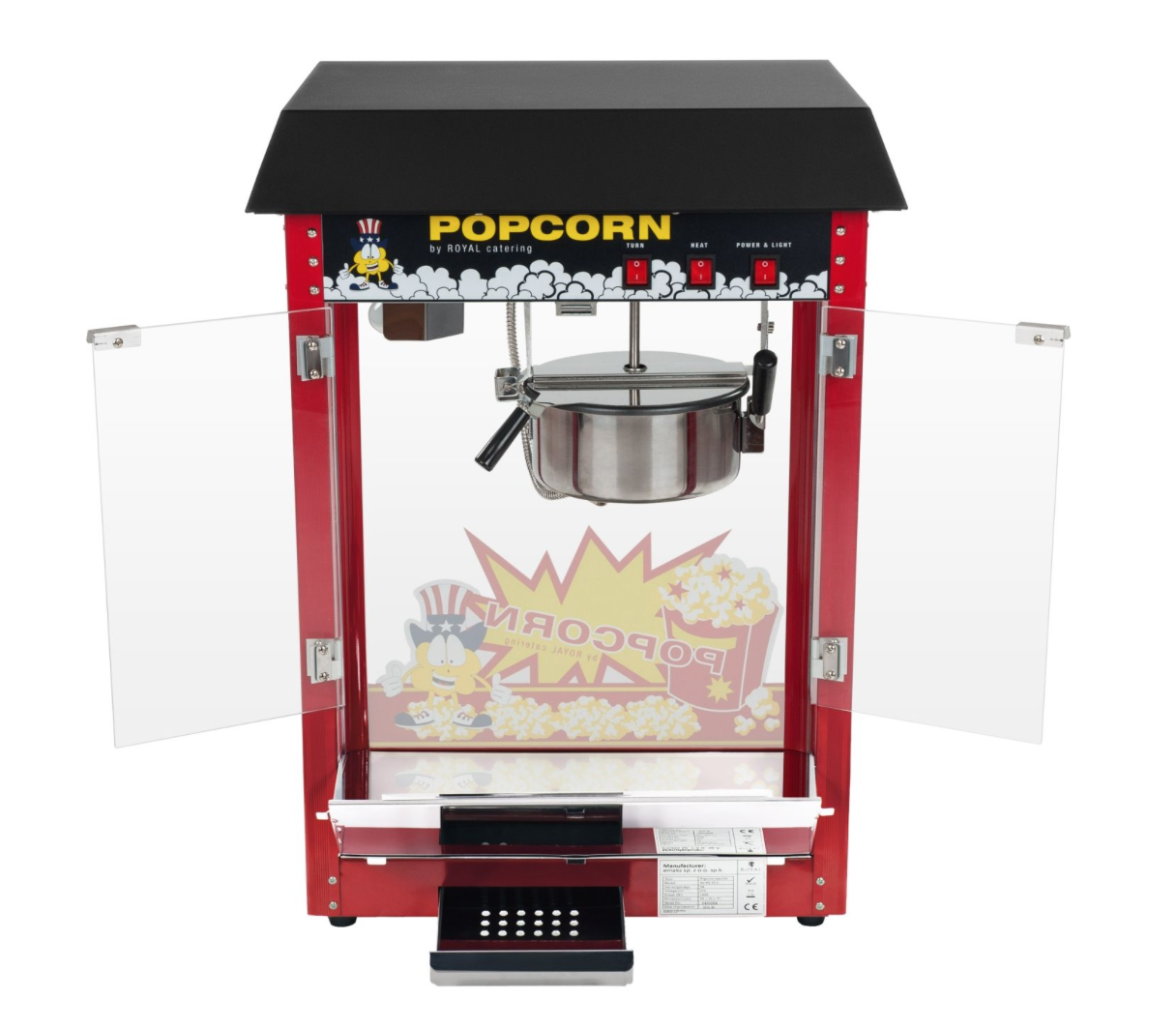 Machine stand Pop Corn Party