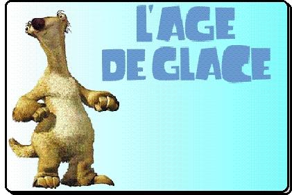 Mascottes Age de Glace