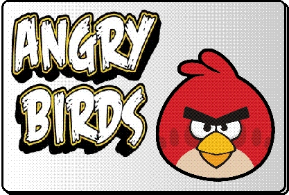 Mascottes Angry Birds