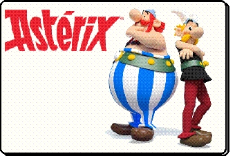 Animation mascotte Asterix