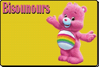 Bisounours animation