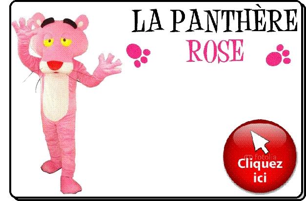 Panthère Rose mascotte déguisement vente location