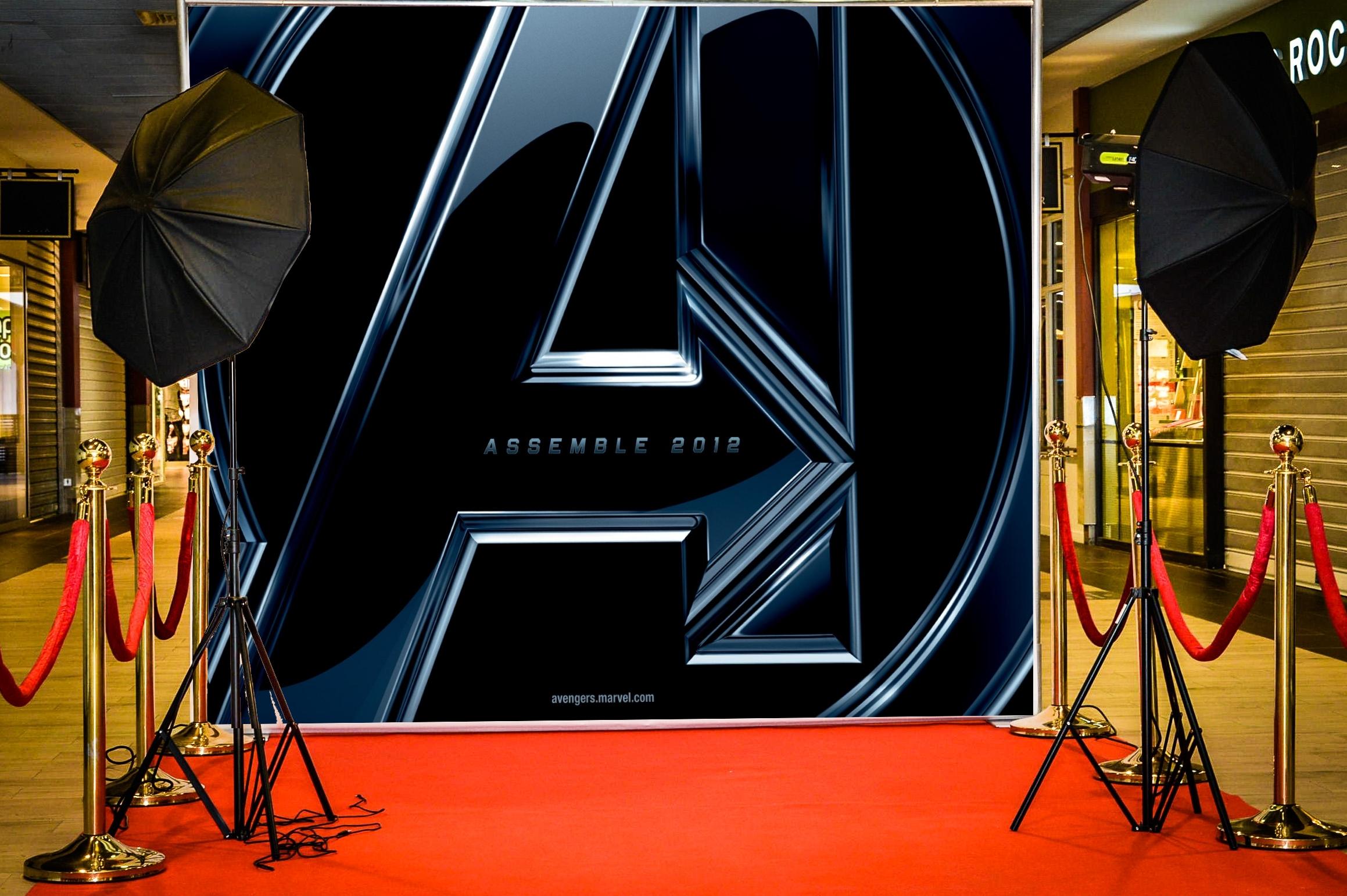 Photocall Avengers