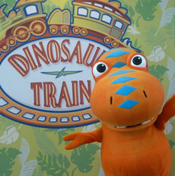 Dino Train mascotte animation