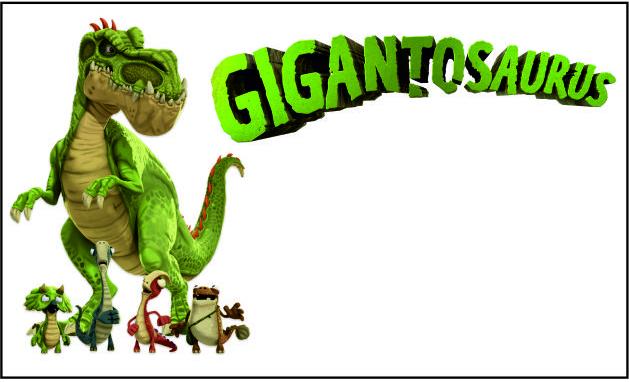 Gigantosaurus animation