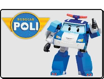 Robocar Poli animation mascotte