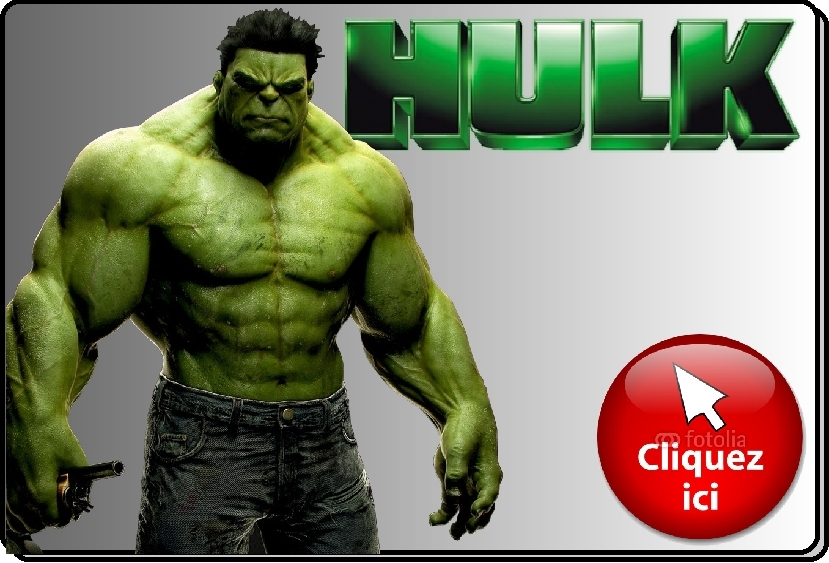 Animation mascotte Hulk