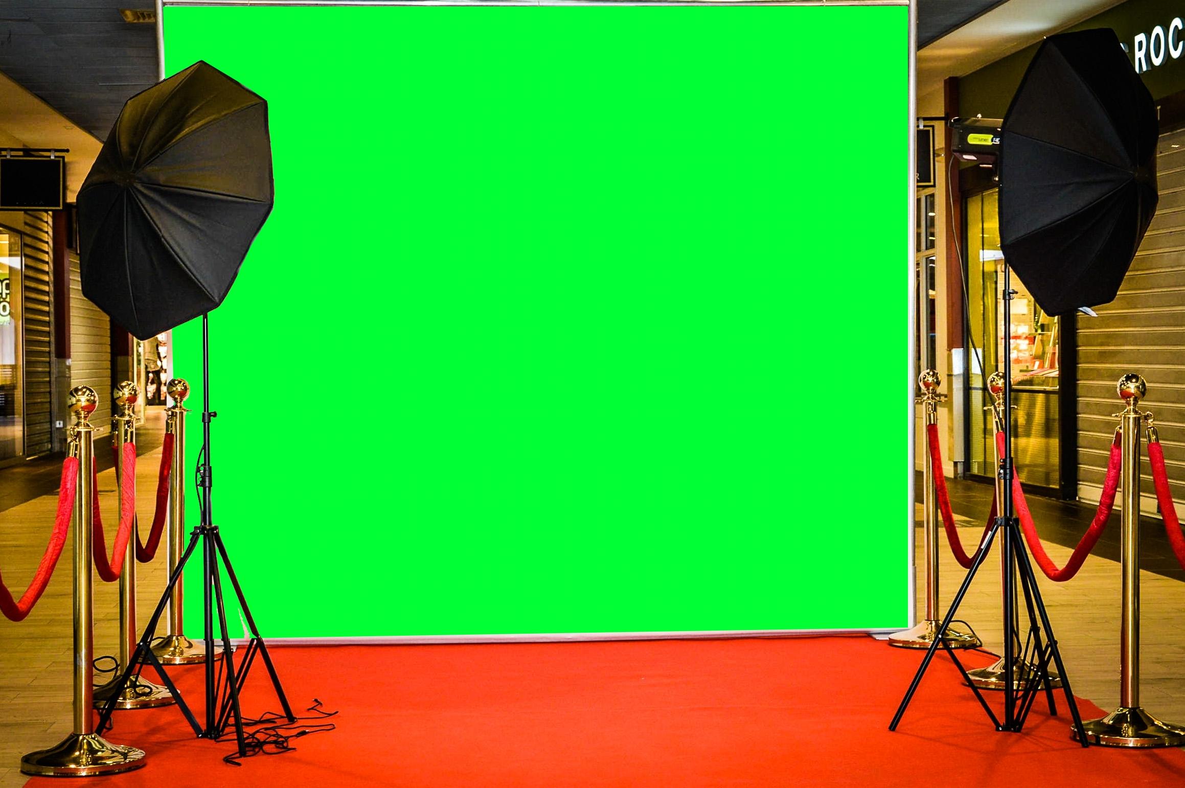 Toile photocall pour prise photo et video - vente location - fond vert